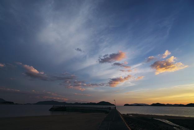 夕雲の彩り