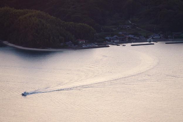 笠佐島から