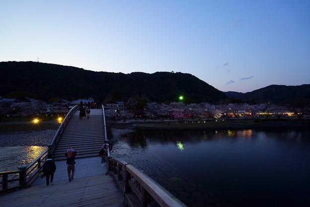 黄昏の錦帯橋