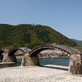 Photos: 錦帯橋 鉄板の構図