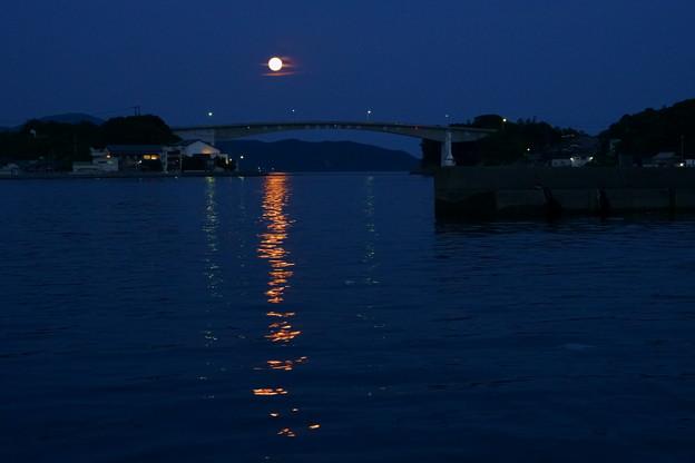 満月の煌めき