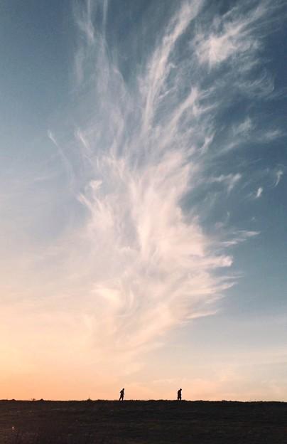 燃え立つ雲