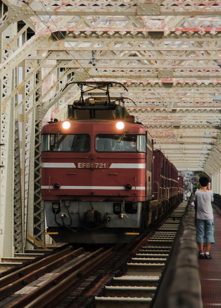 赤川鉄橋(大阪市)