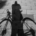 写真: DSC_9380 16-9 自転車と僕のシルエット...。