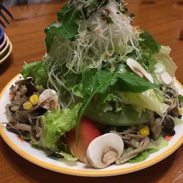長野県上田市/イル・ボスキーノ/森のキノコのサラダ