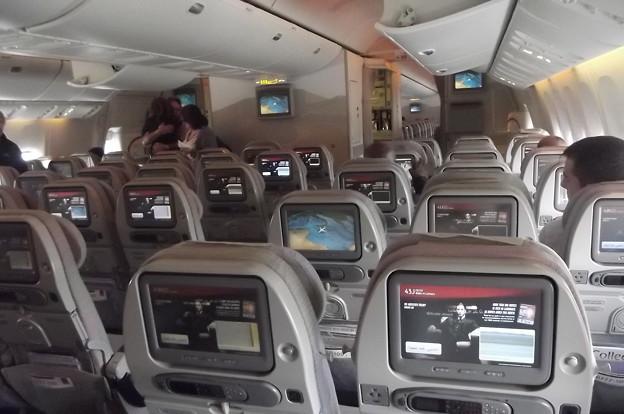 エミレーツ航空・機内0224