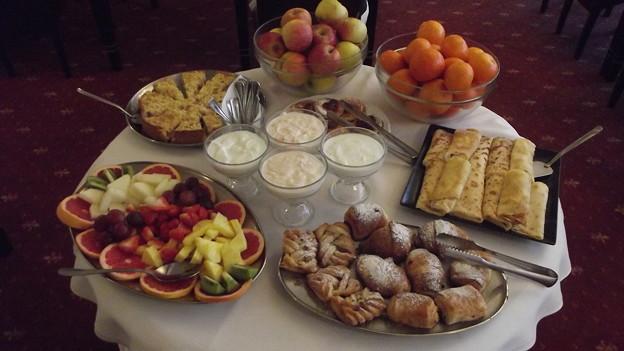 ブラチスラバ・ホテルの朝食0120