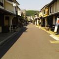写真: 内子の町並み(あたらし屋付近)