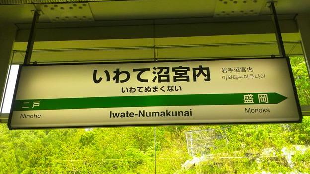 東北新幹線 いわて沼宮内駅@岩手県岩手町