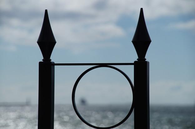 空と海の接線