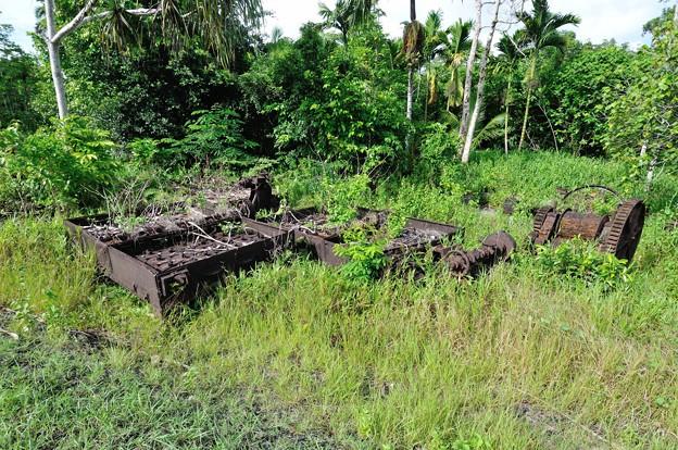 写真: パイナップル缶詰工場跡