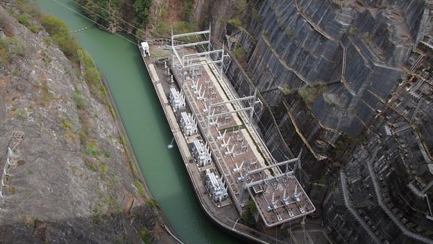 86奈川渡ダム
