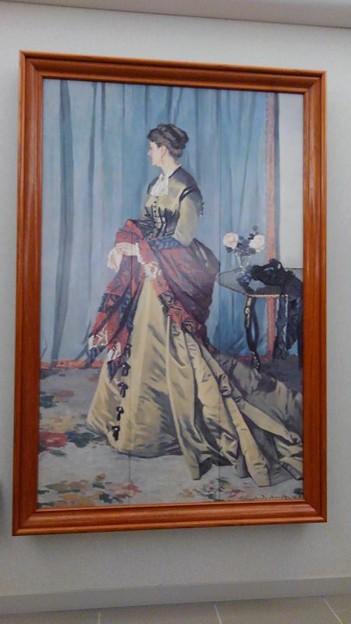 モネ『ゴーディベール夫人の肖像』
