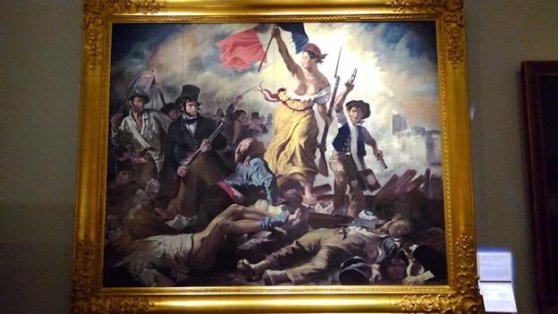 ドラクロア『民衆を導く自由の女神』