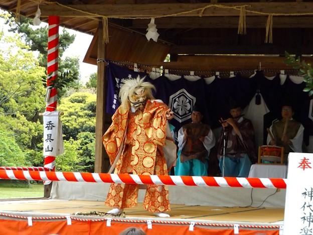 奉納神代神楽(4)