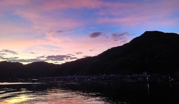 伊根浦の夜明け