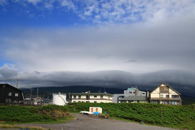 沓形岬から利尻山 180730 01