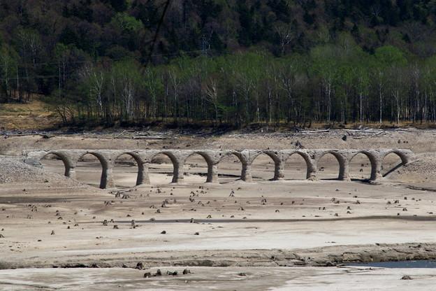 タウシュベツ川橋梁 190519 01