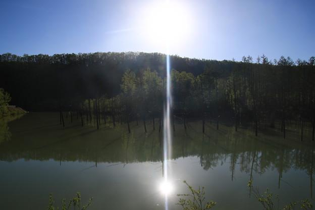 青い池 190522 01