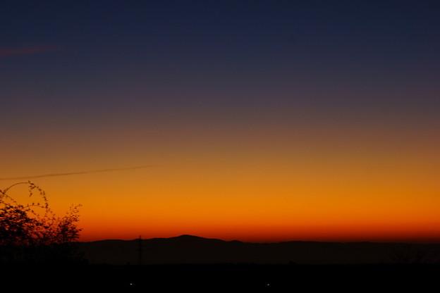 夜明けのグラデーション