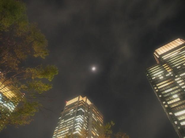 丸の内の夜空
