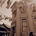 昭和3年に建てれた川越商工会議所とこいのぼり