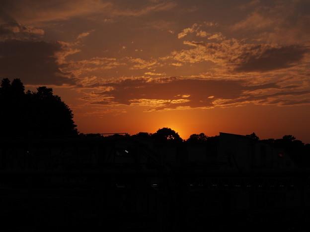 Photos: 上野の夕焼け