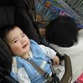 Photos: おみちゃん笑顔(≧∇≦)7ヶ月とモモ3才