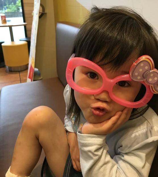 Photos: 寝れなかったわ~でもやる事山済新年度!#眠い #眼鏡