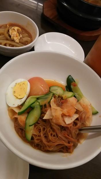 練習帰りのご飯!ここ旨い! #錦糸町 #韓国料理 #草場