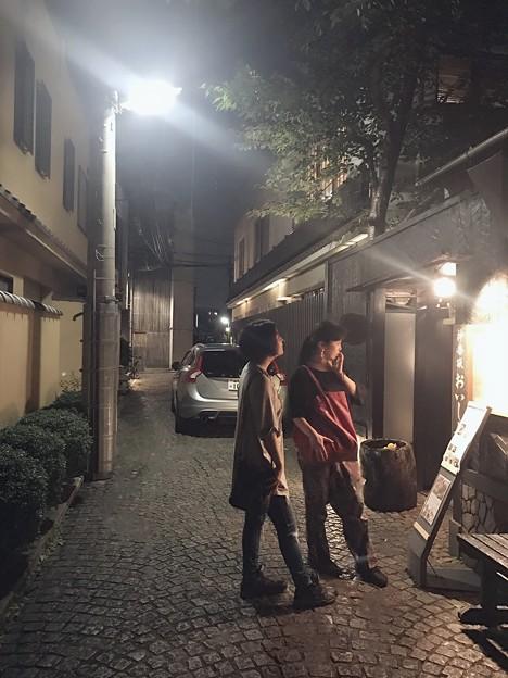 そうだ!京都行こう風  #やっぱり素敵 #神楽坂 #昭和感 #祝party