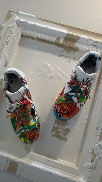 shoes #art #paint #靴
