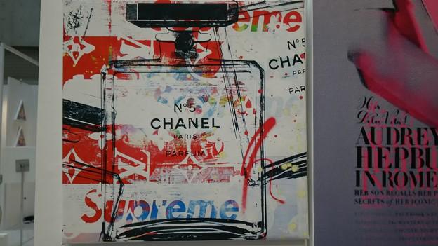 CHANEL × supreme × モノグラム #art