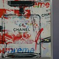 Photos: CHANEL × supreme × モノグラム #art