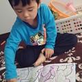 Photos: ぬり絵 自由すぎる #子供 #omi