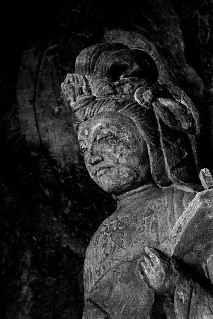 写真: 洞窟弁天/鎌倉・長谷寺