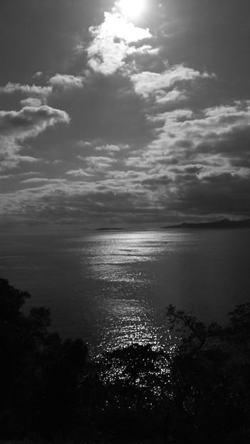 二人で見た海