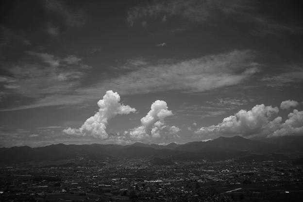 大空を散歩