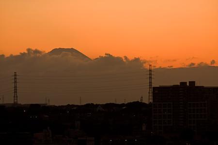 富士山のあたま