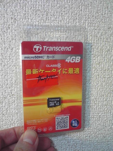 マイクロSDHC4GB