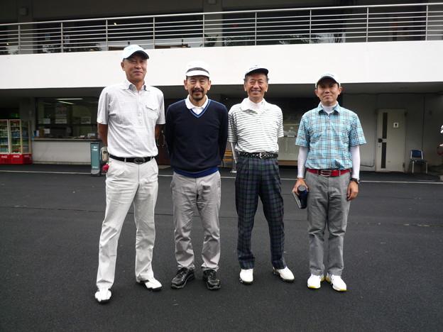 足利城ゴルフ倶楽部でプレーしたお客様と2015.10.10