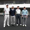 写真: 足利城ゴルフ倶楽部でプレーしたお客様と2015.10.10