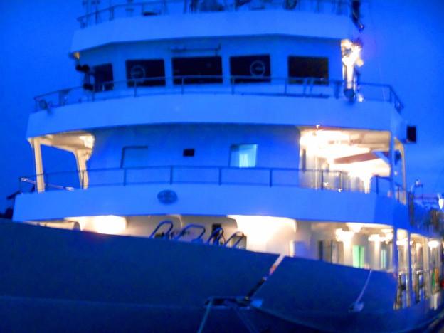 夜景・練習船「広島丸」