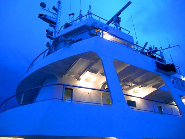 練習船「広島丸」夜景