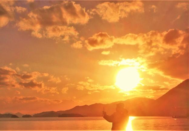 夕凪の海@豊饒の瀬戸内海
