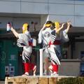 三原名物@ヤッサ饅頭・やっさ踊り@三原駅前