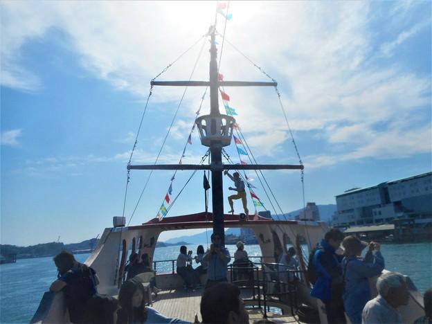 海賊船に乗ってみた@おのみち港まつり2018