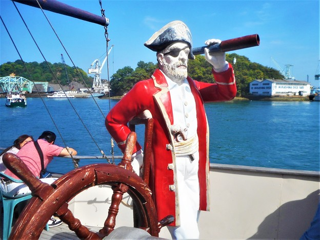 キャプテンはGWも忙しい@バイキングエース号(遊覧船)に乗ってみた