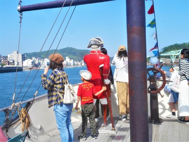 潮風爽やか@海賊船に乗ってみた@おのみち港まつり