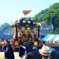 写真: 東八幡宮の神輿@尾道みなと祭